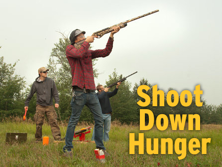 Clay shoot for hunger
