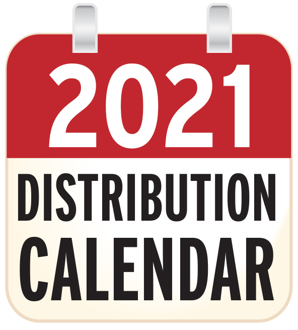 Distribution calendar 2021 ILP