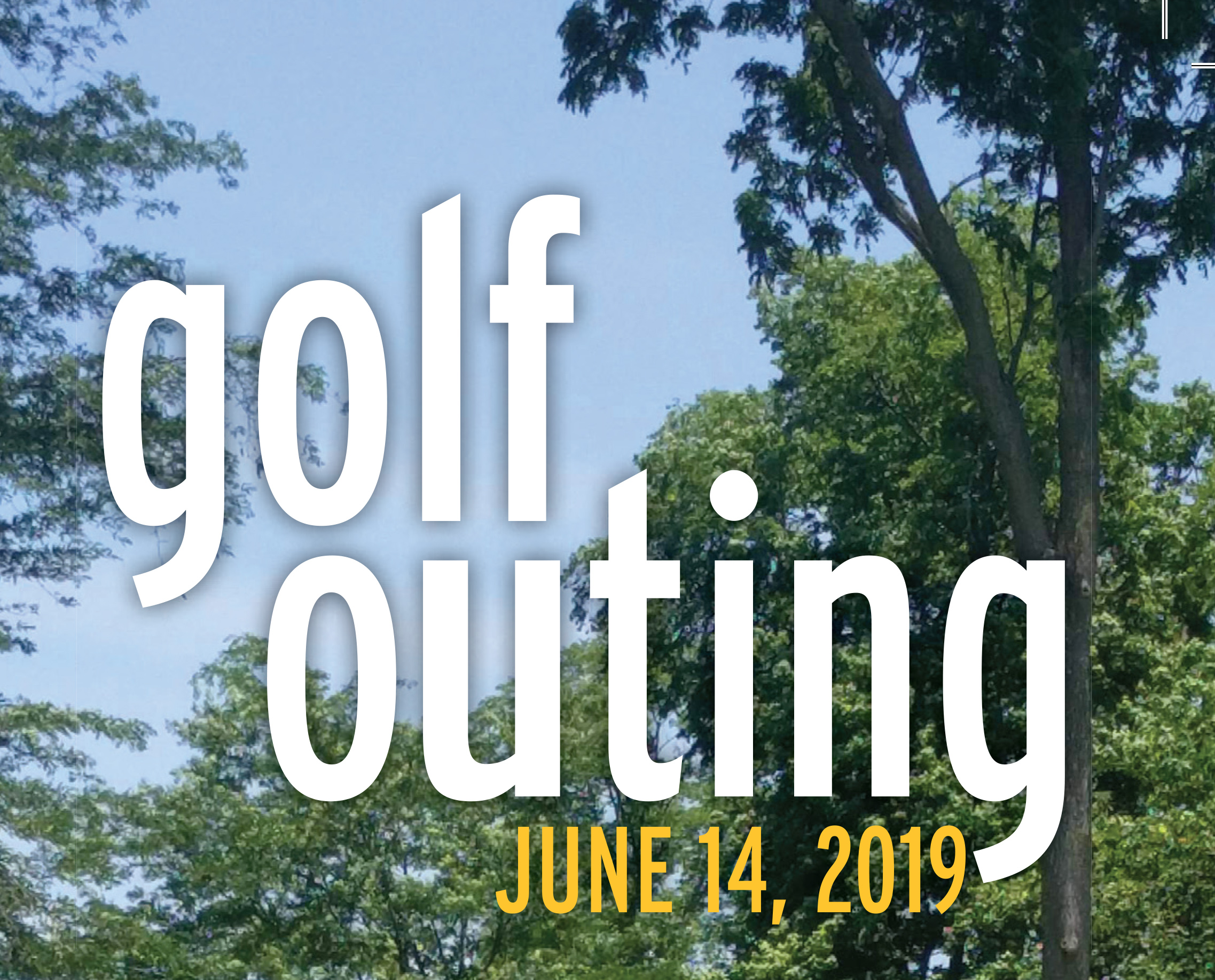 Golf Outing web art