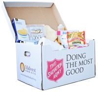 Salvation Army Disaster Box